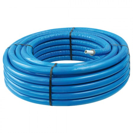 Tube MC isolé 13 mm bleu